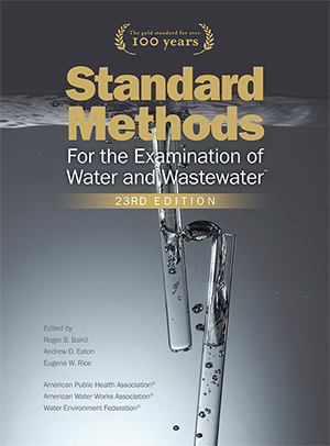 Standard Methods for the Examination of Water 23r Ed®<BR>Non-Member Price: $395.00<BR>Member Price: $225.00
