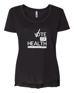 Women's Extra Large Vote for Health Shirt